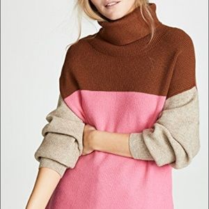 🆕Free People Structured Color Block Sweater